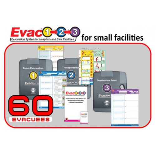 Evac123® Hospital / Facility Evacuation Package - 60 Patients